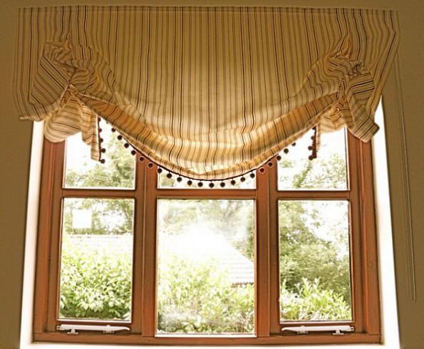 шторы в английском стиле для гостиной