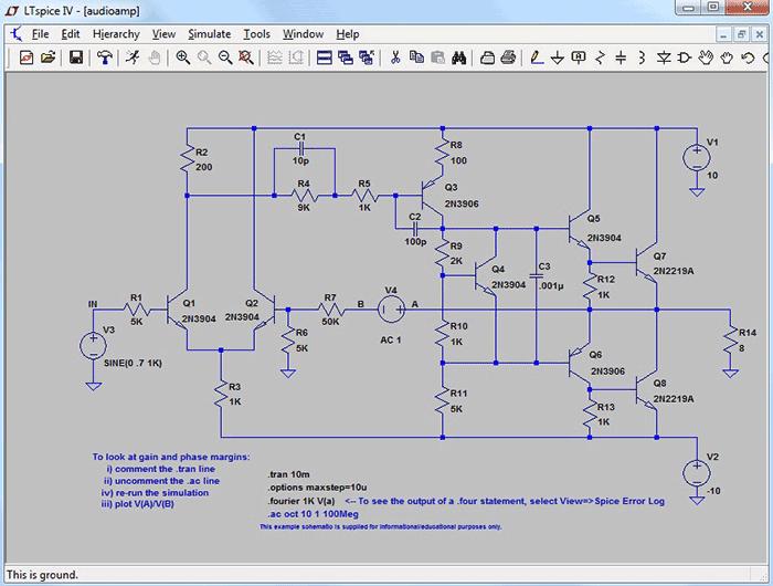 программа для создания электрических схем