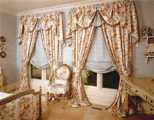 Шторы в английском стиле - аристократичность и элегантность - арт интерьер