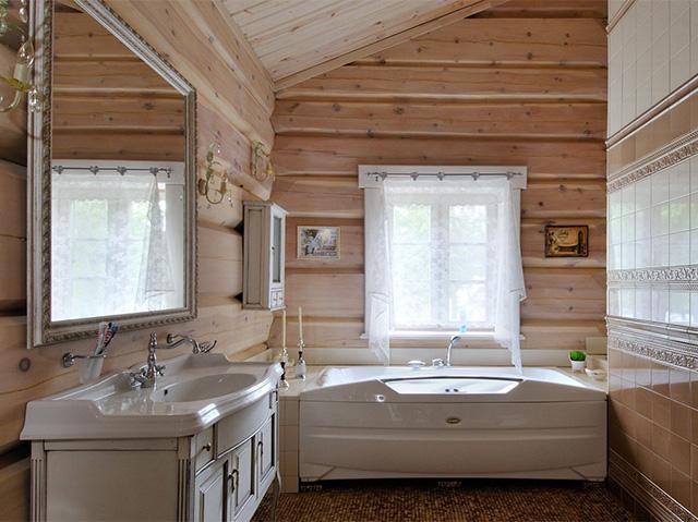 Правильное обустройство ванной в каркасном доме