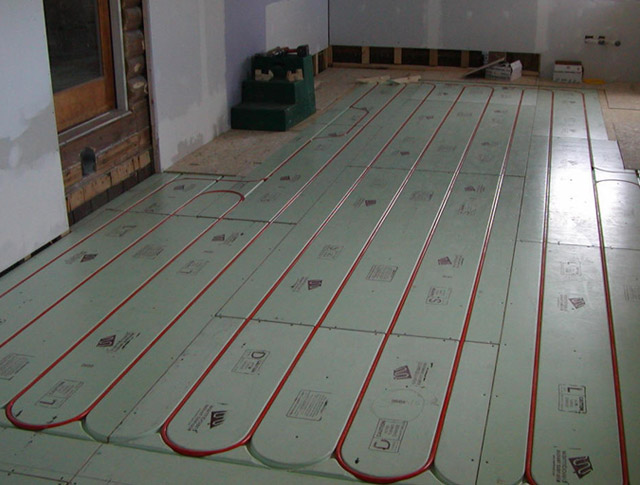 Тёплый пол на кухне под плитку: выбираем и устанавливаем
