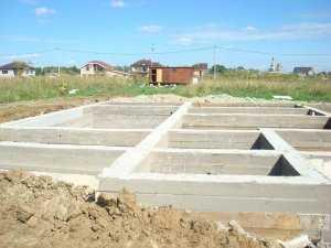 сколько стоит сделать фундамент под дом