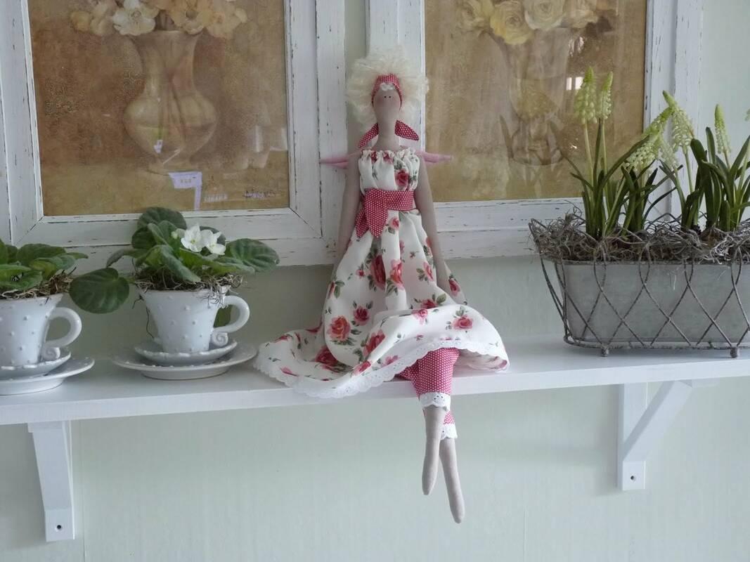 Интерьерная кукла: секреты создания, мастер-классы и выкройки