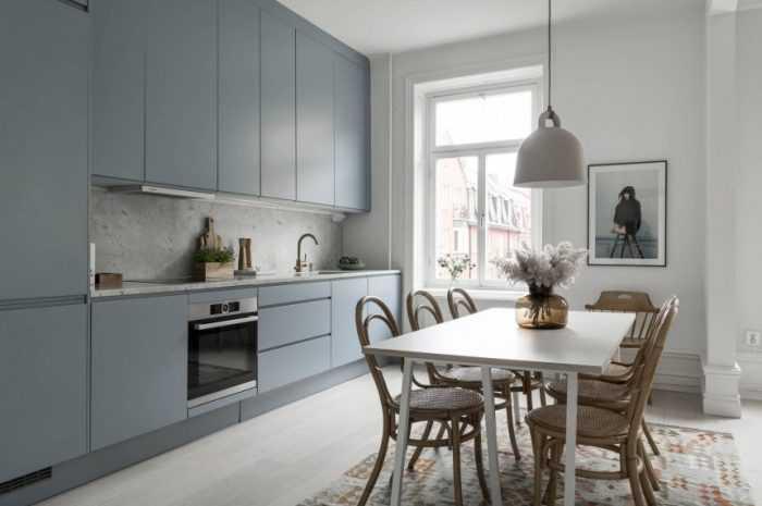 Дизайн кухни в фиолетовых тонах — что выполнить в фиолетовом, сочетания с другими цветами