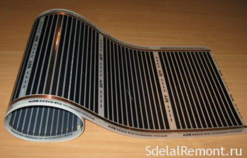 Инфракрасный теплый пол - 100 фото отопления при помощи гибких моделей обогревателей