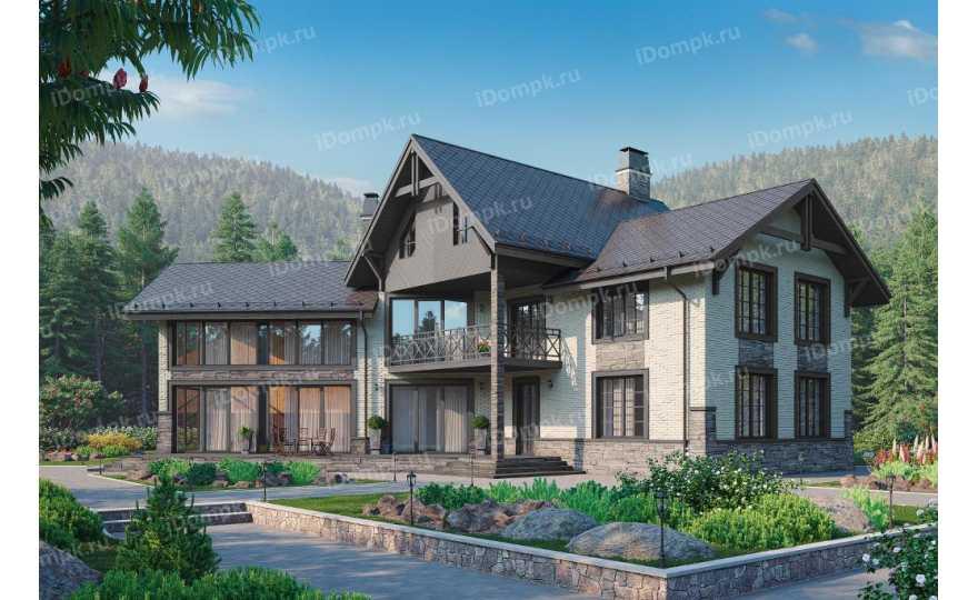 проект дома г образной формы