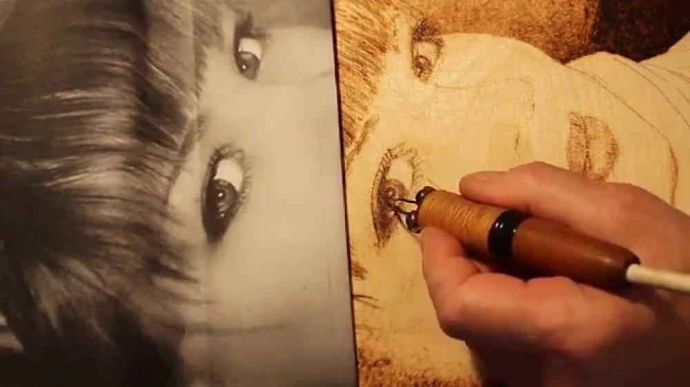 Перенос картинок на деревянную поверхность! handmade. ⋆ lifeservice