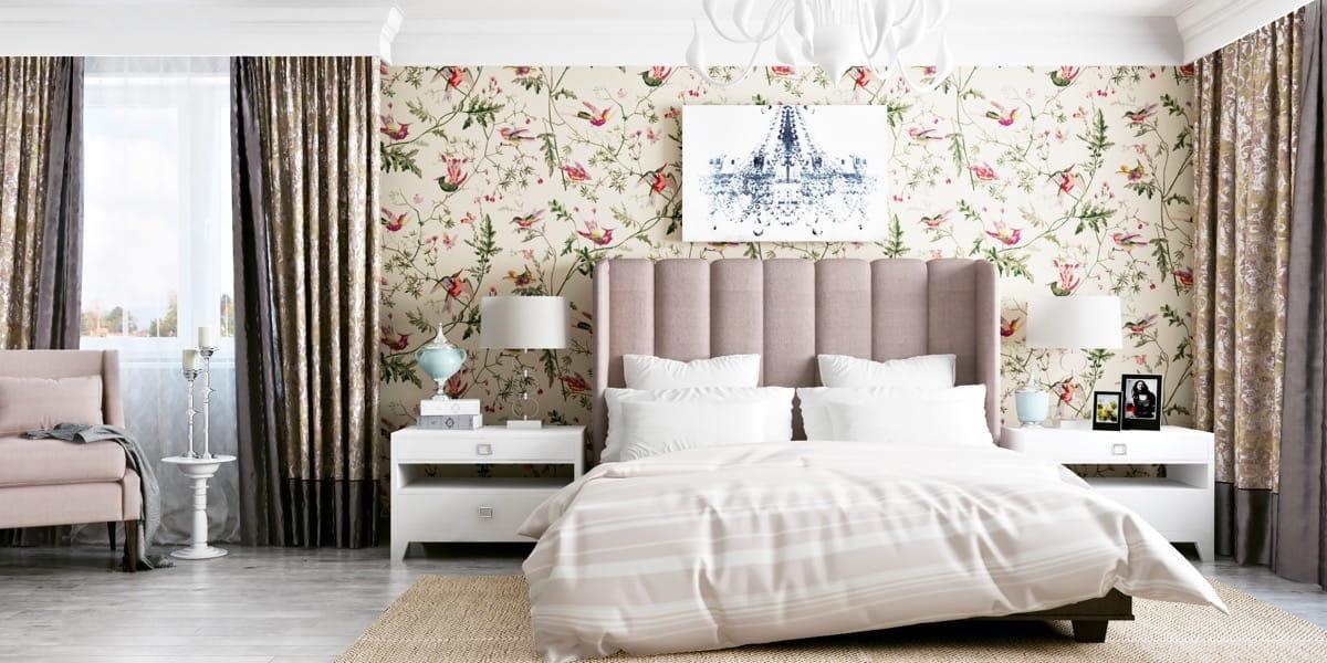 Красивые обои для стен — 170 фото оригинальных идей в интерьере