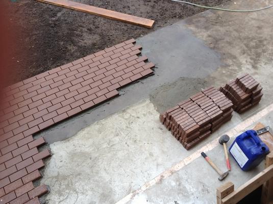 Тротуарная плитка ― секрет состава!