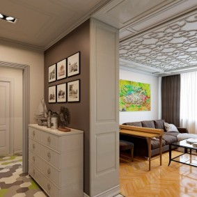 Дизайн однокомнатной хрущевки: рекомендации по визуальному расширению пространства в 1 комнате, идет для мебели, стен
