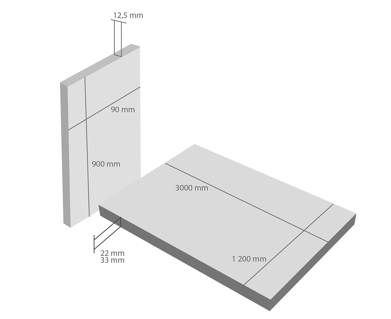 Аквапанели «кнауф». стандартные размеры. технические характеристики и область применения