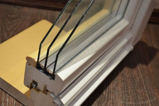 Таблица теплопроводности стеклопакетов