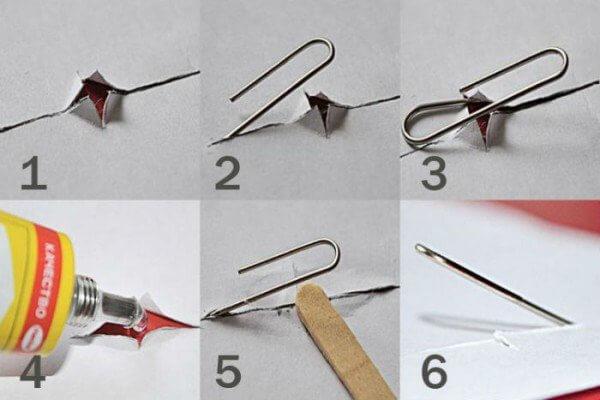 Как повесить картину на стену без гвоздей: скотч, скрепка, клей, крючок-паучок и другие варианты