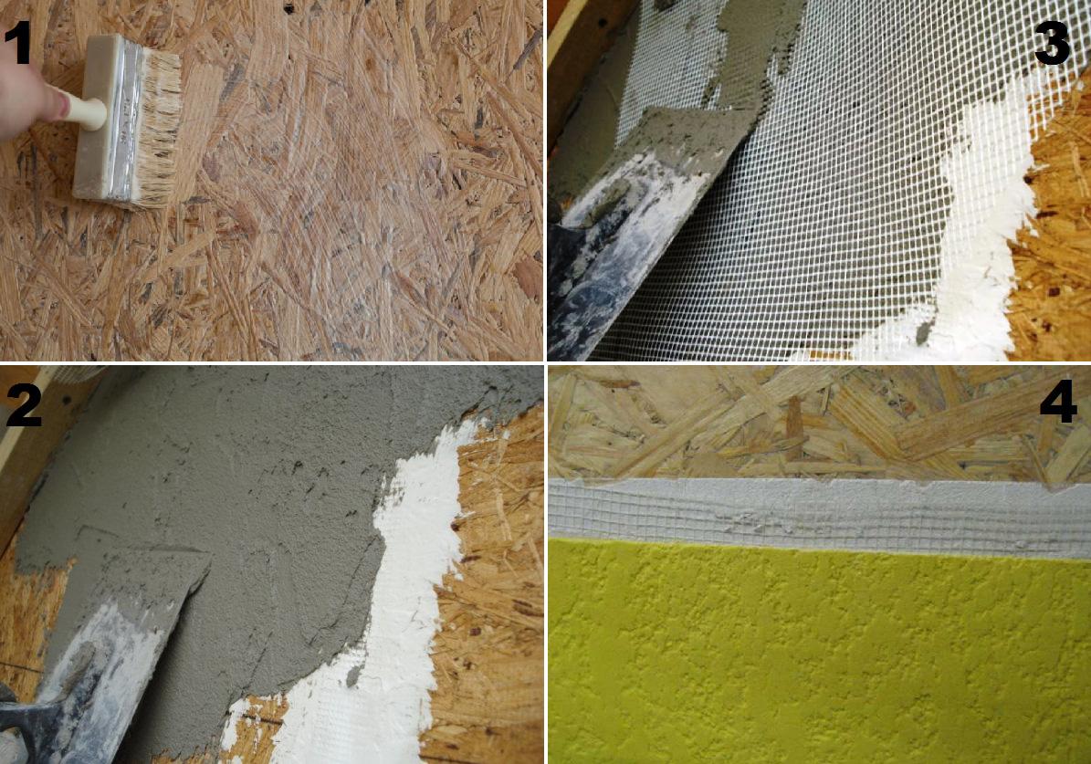 Чем лучше покрасить или поклеить стены из осб