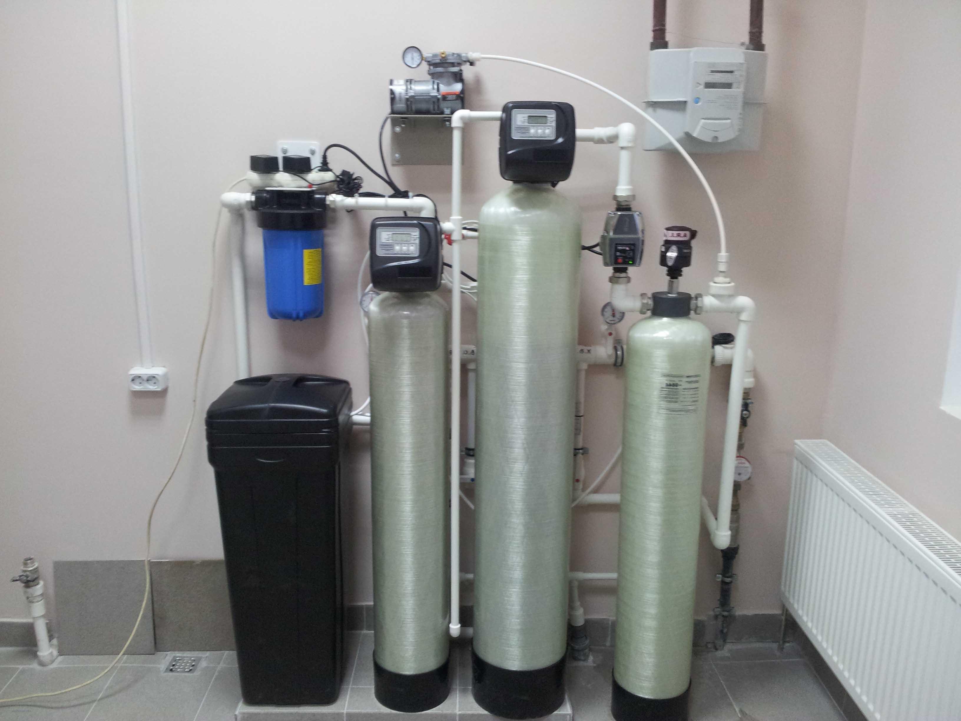 Очистка воды из скважины, очистка воды из скважины в загородном доме до питьевой