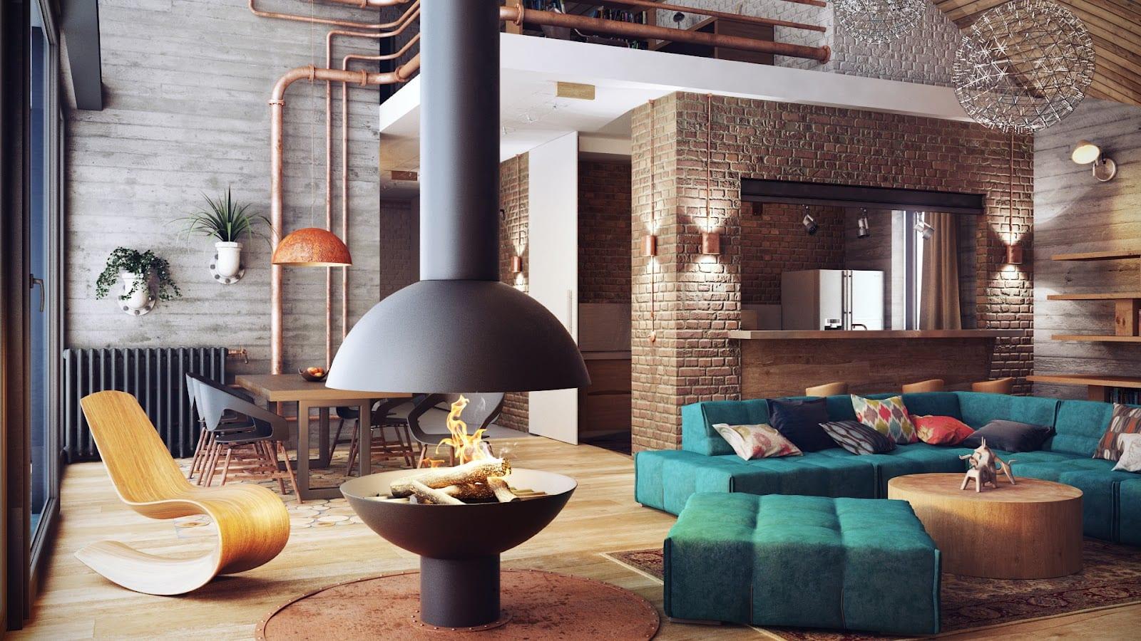 Стиль лофт в интерьере квартиры: 12 советов по обустройству + фото