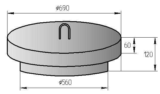 Железобетонная крышка колодца: виды, выбор, использование