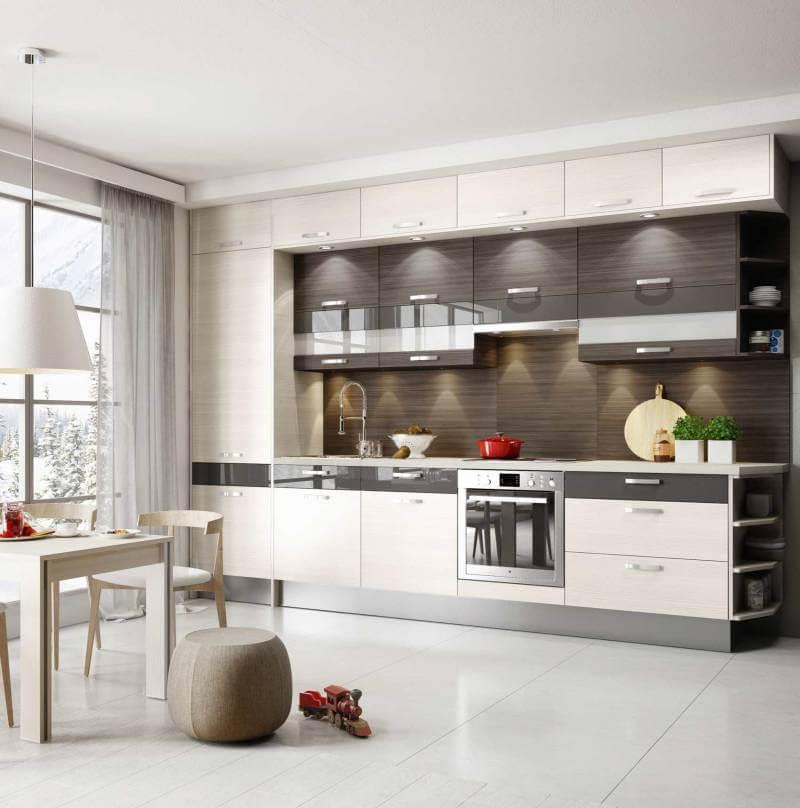 Кухня 4 квадратных метра: создаем дизайн, расширяющий пространство