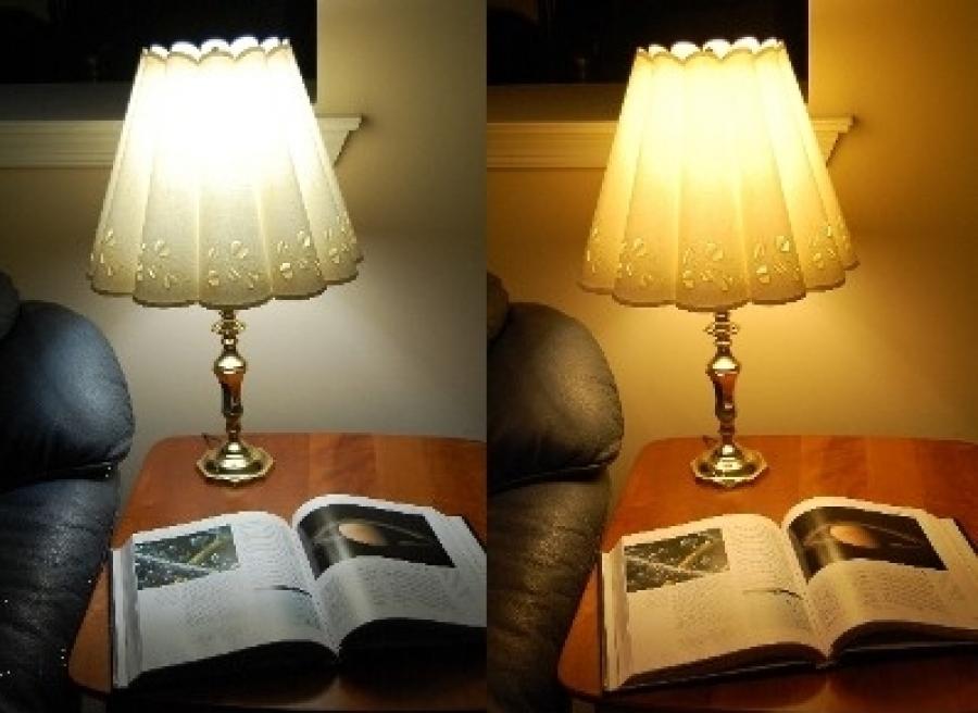 теплый или холодный свет какой лучше