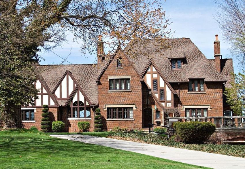 стильные дома