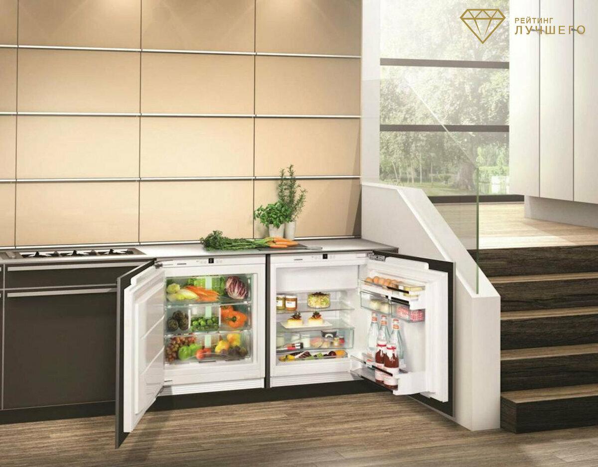 маленькие холодильники с морозильной камерой