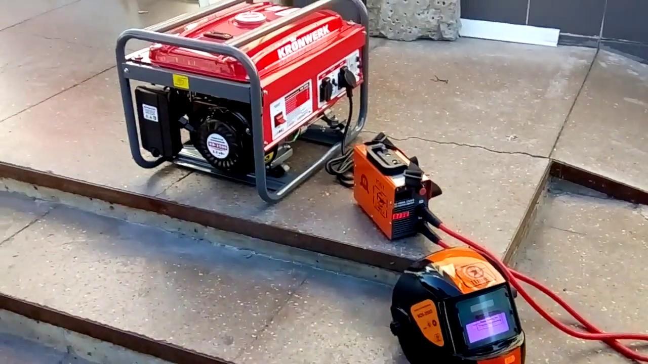 Какой генератор потянет инверторные сварочные аппараты: какой бензогенератор выбрать