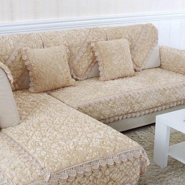 Как сшить чехол на диван своими руками, пошаговая инструкция с видео
