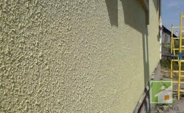 краска для фасадных работ по штукатурке