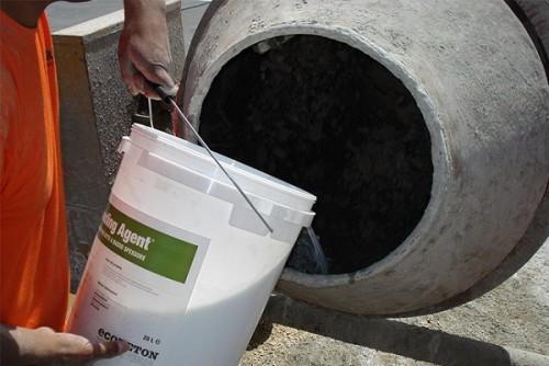 Как самостоятельно сделать противоморозную добавку в бетон?
