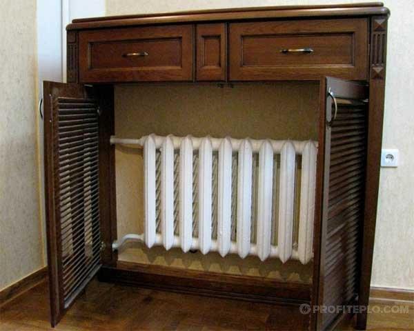декоративные панели для радиаторов отопления