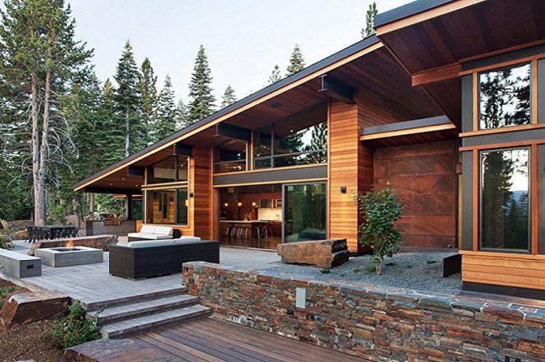 Почему так популярны проекты домов в стиле шале