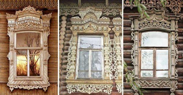Наличники на окна в деревянном доме: инструкция по установке