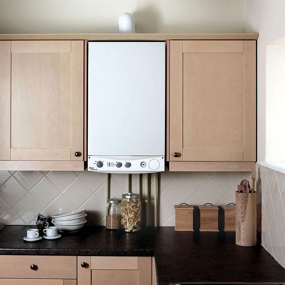 Практичные варианты как спрятать газовую трубу на кухне