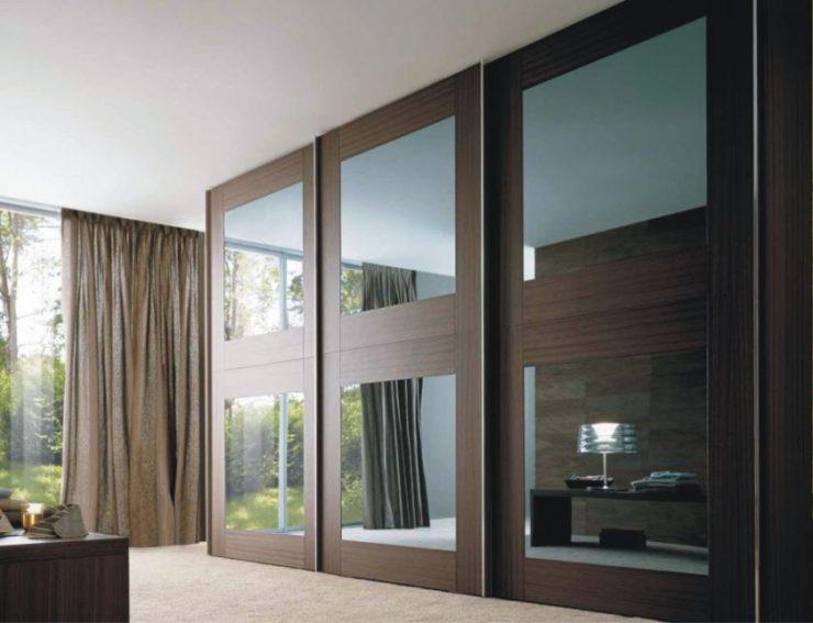 Шкаф-купе в гостиную (59 фото): красивые стильные виды моделей и как разместить у стенки в помещении 18 кв. м
