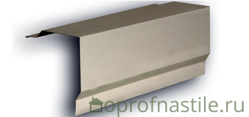 Карнизная планка для металлочерепицы: монтаж, размеры