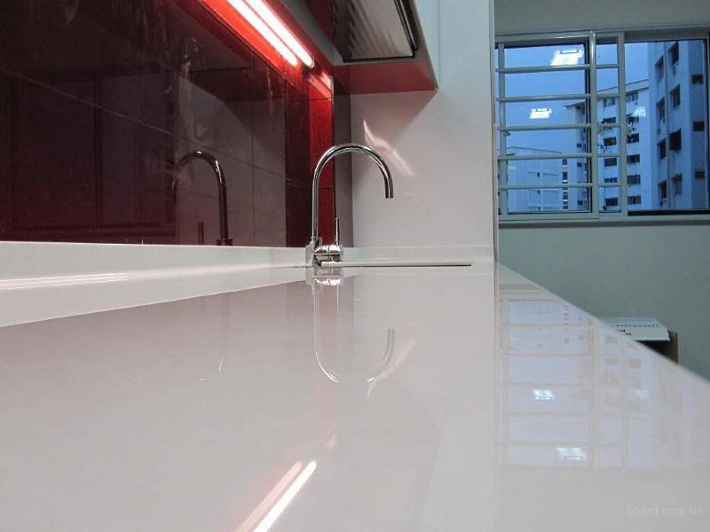 Виды столешниц для кухни, какие лучше: пластиковые, акриловые, из камня, дсп, мдф