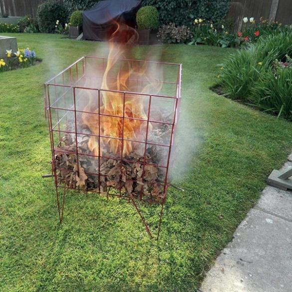 Как правильно сжигать мусор на участке – разбираемся с законами