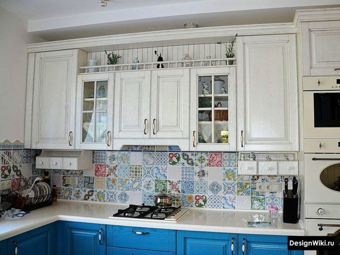 сиреневая кухня дизайн