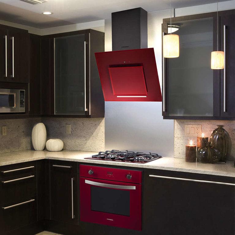 Белая вытяжка (26 фото): встраиваемая модель из стекла в интерьере кухни