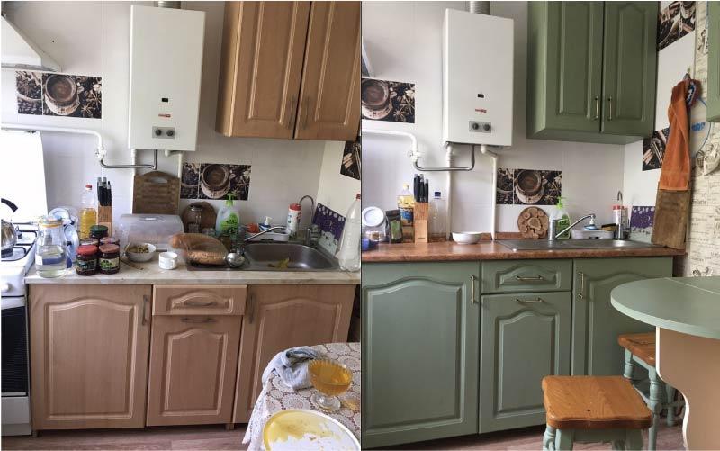 заменить фасады на кухне