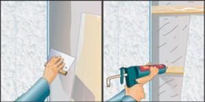 обрешетка под пвх панели в ванной