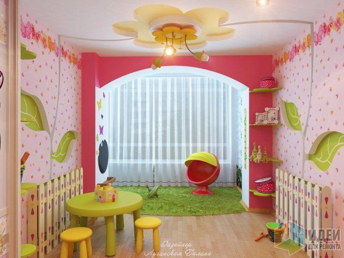 интересные идеи для детской комнаты