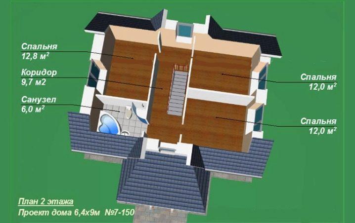 Дом 8 на 9: 100 фото реальных проектов и обзор готовых вариантов оформления домов
