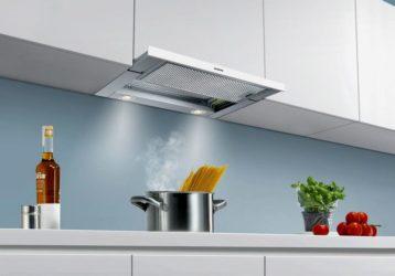 Кухонная вытяжка с выводом в вентиляцию и её установка