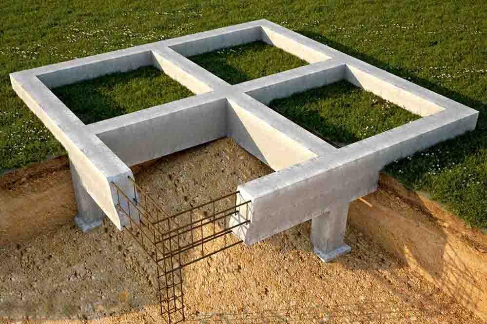 Расчет монолитного фундамента - плиты. подробная инструкция, видео.