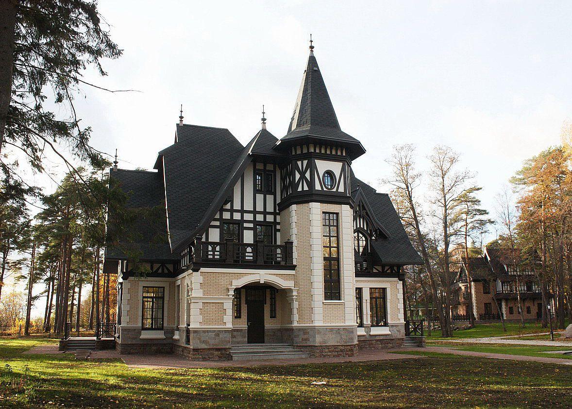 дом в средневековом стиле