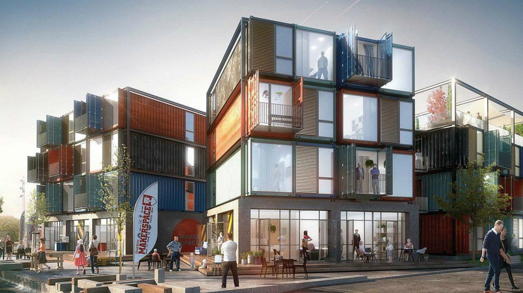 Дом из блок-контейнеров: преимущества и особенности