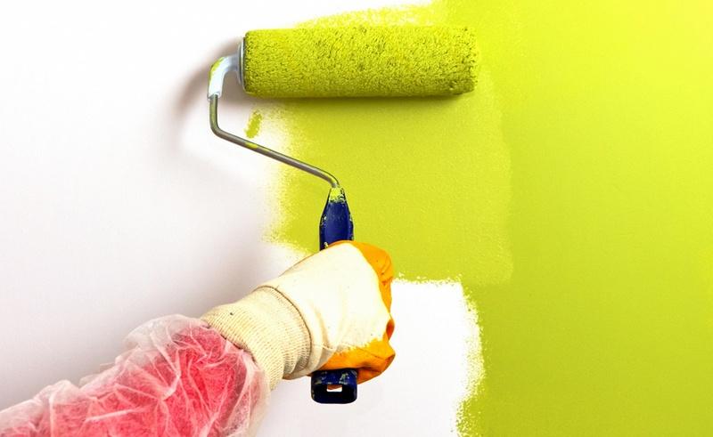 Как правильно красить стены валиком – осваиваем секреты мастерства