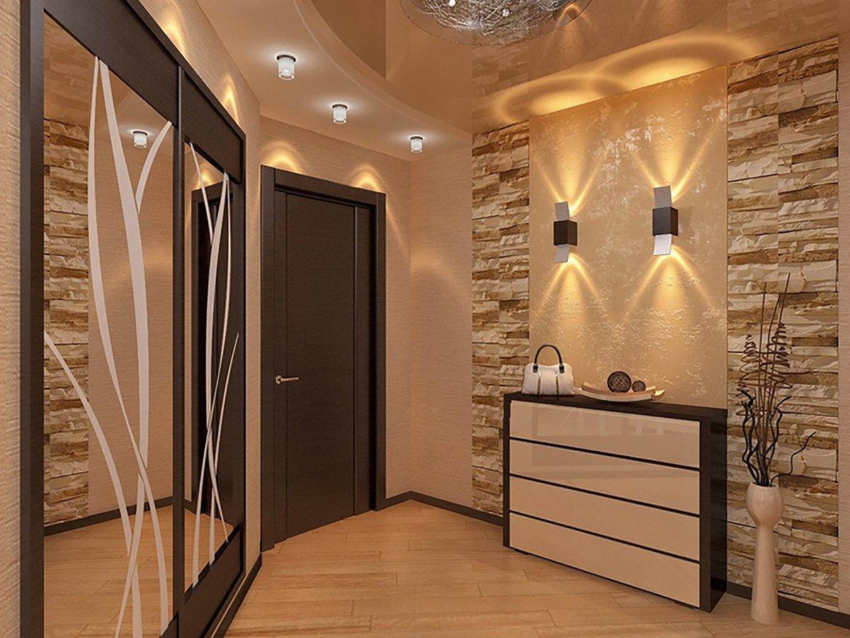 Покраска стен в коридоре: в какой цвет лучше всего выкрасить маленькую прихожую или большую, варианты цветового решения