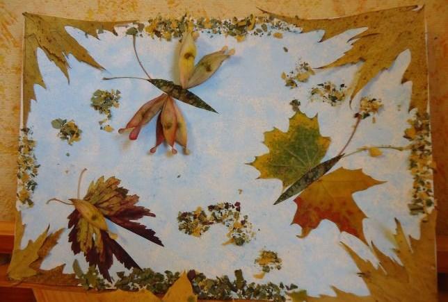 поделки из дубовых листьев